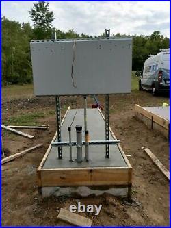 Solar inverter Mounting Plate