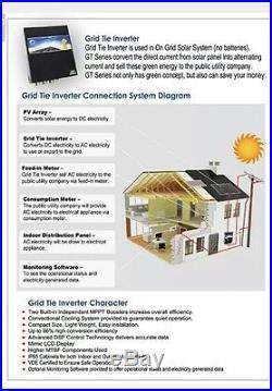 Solar inverter grid tie 5 Kw