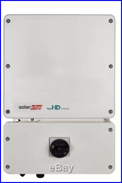 SolarEdge 10kW Single Phase Inverter with HD-Wave Technology
