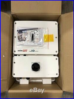 SolarEdge SE6000H-US Single Phase SetApp Enabled Inverter with HD-Wave
