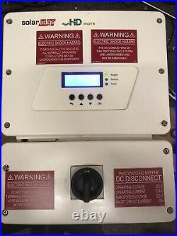 SolarEdge SE7600H-US HD Wave Grid Tie Inverter 7600W 240 VAC