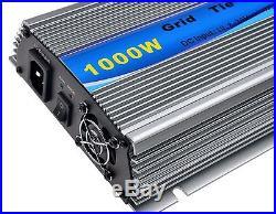 SolarEpic 1000W Grid Tie Inverter MPPT For Solar Panel Stackable Pure Sine Wa