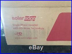 Solaredge 5000W HD Wave Grid Tie Inverter SE5000H-US 240v DC String Inverter