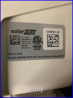 Solaredge SE6000H-US HD Wave Grid Tie Inverter
