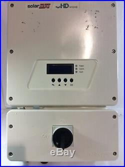 Solaredge Se10000h-us Hd Wave Grid Tie Inverter 10000w 240 (for Parts) Ad Dg