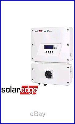 Solaredge Se6000h-us Hd Wave Grid Tie Inverter 6000w 240 Vac, String Inverter