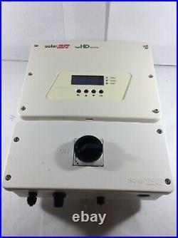 Solaredge Se6000h-us Hd Wave Grid Tie Inverter 6000w (for Parts) Ad Dg
