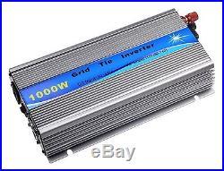 Solarepic Grid Tie Inverter 1000w Stackable with MPPT 20-45v Input 110v Output