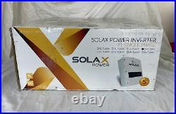 Solax Power Solar Grid Tie Inverter SL-TL2800 2.8Kw Air X1 Single Phase