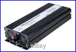 Solinba 1000w Pure Sine Wave Grid Tie Power Inverter DC22-56v to AC90-130v fo