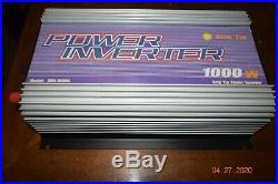 Sun grid tie power inverter 1000 watt solar power sun-1000g-wdl