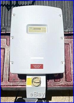 Sunny Boy SB6000US 6000W Grid tied Solar inverter + DC disconnect