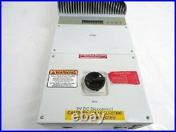 Sunpower ABB PVI 3.0-OUTD-S-US Single/Split Phase Grid Tied Inverter