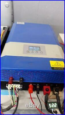 Tumo-Int 2kW Split Phase DC24V to AC120V/240V Solar Inverter 40A MPPT Controller