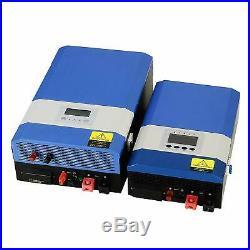 Tumo-Int 6kW Split Phase DC48V to AC120V/240V Solar Inverter 60A MPPT Controller