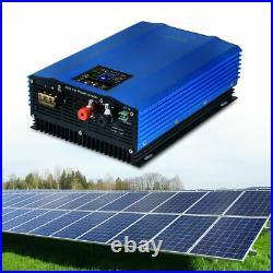 US 1200W Waterproof Grid Tie Inverter DC To AC 110V Pure Sine Wave Inverter 48V