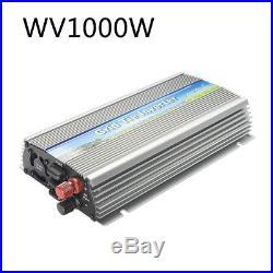 US Pure Sine Wave MPPT 1000W Grid Tie Inverter For Vmp30V or Vmp36V Solar Panel