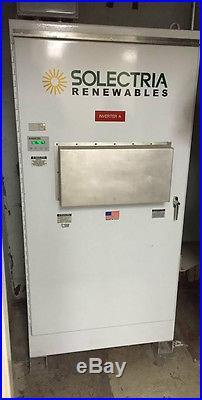 (used) Solectria Pvi 60kw 208vac Grid-tie Solar Inverter