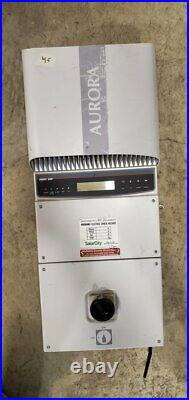 Used ABB Grid Tie 3000 Watt Inverter With Disconnect #45