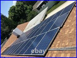 Used Solar System /kit SolarEdge Inverter, panels and mounting