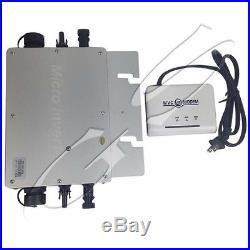 WVC- 600W /1200W Grid Tie Inverter Solar MPPT Micro Inverter With Matching Modem