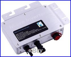 Waterproof 260W 600W 1200W MPPT Solar Grid Tie Micro Inverter 22-50V Home System