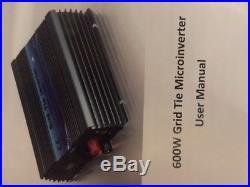 Windgenerator Turbine bis zu 8,8 KW Strom / Tag mit Grid Tie Inverter 24V