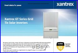 XANTREX GT3 3000 WATT SOLAR Grid-Tie Inverter. 3kW AC 208/240V WORKS GREAT