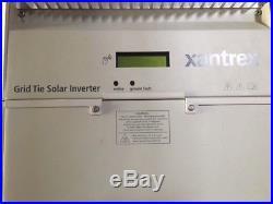 Xantrex Gt4.0 Grid Tie Solar Inverter With Manuals