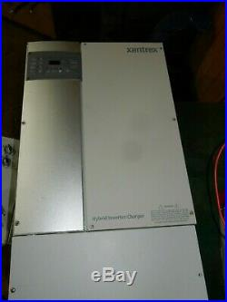Xantrex/Schneider XW4548 5KW Solar PV Inverter (off-grid or grid-tie)